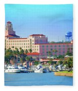 Vinoy Fleece Blanket