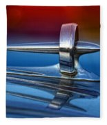 Vintage Buick Hood Ornament Fleece Blanket