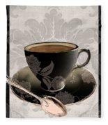 Vintage Cafe IIi Fleece Blanket