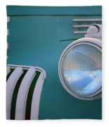 Vintage - Chevrolet Truck - Detail 1 Fleece Blanket
