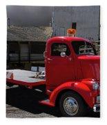 Vintage Chevrolet Truck Fleece Blanket