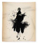 Vintage Coat Dress 2 - By Diana Van Fleece Blanket