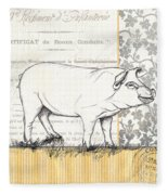 Vintage Farm 2 Fleece Blanket