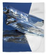 Vintage Flying Lady Hood Ornament Fleece Blanket