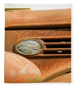 Vintage Ford Truck Fleece Blanket