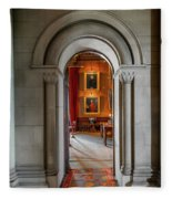 Vintage Hall Fleece Blanket