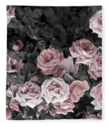 Vintage Roses In Pink 2  Fleece Blanket