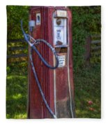 Vintage Tokheim Gas Pump Fleece Blanket