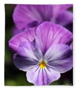 Viola Named Columbine Fleece Blanket