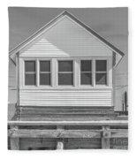 9 - Violet - Flower Cottages Series Fleece Blanket