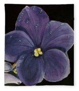 Violet Fleece Blanket