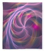 Violet Dreamy Feel Fleece Blanket