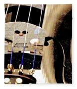 Violin 2a Fleece Blanket