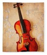 Violin Dreams Fleece Blanket