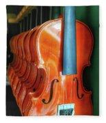Violins For Sale Fleece Blanket