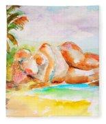 Virgin Cove Fleece Blanket