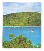 Virgin Island Getaway Fleece Blanket