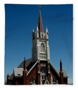 Virginia City Church St Mary Fleece Blanket