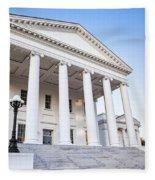 Virginia State Capitol Fleece Blanket