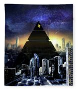 Virtual Law City Fleece Blanket