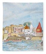 Vishweshwar Jyotirling Fleece Blanket