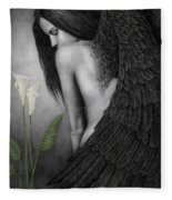 Visible Darkness Fleece Blanket