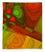 Vision Of Joy Fleece Blanket