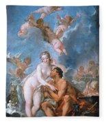 Visit Of Venus To Vulcan Fleece Blanket