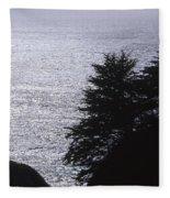 Vista - Julia Pfeiffer Burns State Park Fleece Blanket