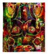Visual Art Fleece Blanket