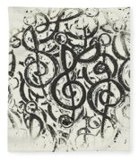 Visual Noise Fleece Blanket