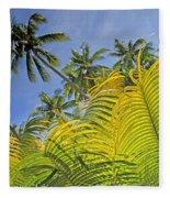Viti Levu, Coral Coast Fleece Blanket