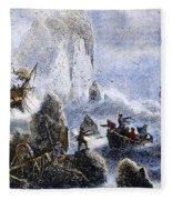 Vitus Jonassen Bering Fleece Blanket