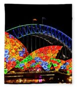 Vivid 15 Fleece Blanket