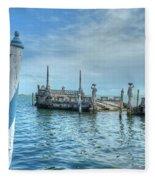 Vizcaya 2 Fleece Blanket