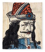 Vlad IIi (1431-1477) Fleece Blanket