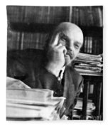 Vladimir Lenin (1870-1924) Fleece Blanket