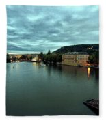 Vltava View 2 Fleece Blanket