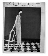 Vogue Magazine, 1925 Fleece Blanket