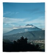 Volcan De Agua Antiqua Gutemala 3 Fleece Blanket
