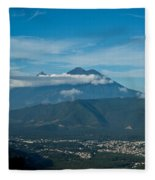 Volcan De Agua Antiqua Gutemala 5 Fleece Blanket