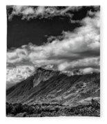 Volcan De Fuego - Bnw - Antigua Guatemala Fleece Blanket