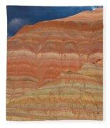 Volcanic Rainbow Fleece Blanket
