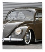 Volkswagen Beetle Fleece Blanket