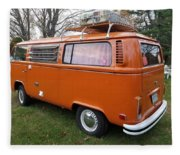 Volkswagen Bus T2 Westfalia Fleece Blanket