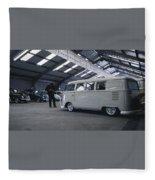 Volkswagen Microbus Fleece Blanket