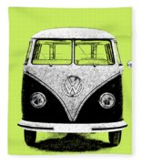 Volkswagen T1 1963 Fleece Blanket