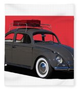 Volkswagen Vw Beetle Fleece Blanket