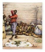 Voodoo Dance, 1885 Fleece Blanket