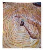 Vrstevnice Fleece Blanket